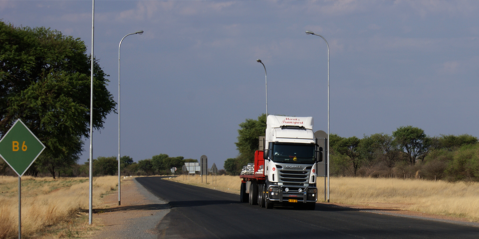 Namibia strategically links to other Corridors
